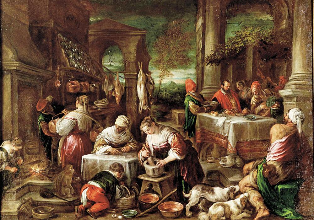 LAZZARO-ALLA-MENSA-DEL-RICCO-EPULONE--Jacopo-e-Leandro-dal-Ponte-detti-Bassano-1578-1580-olio-u-tela-CMYK