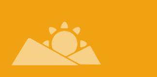 colline e sole, logo rubrica oltre i confini