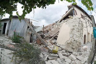 ricostruzione sisma