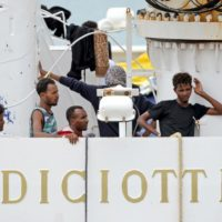Diciotti migranti