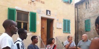 Diciotti migranti Terni