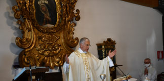 Mons. Boccardo celebra per la Festa 2020 di San Benedetto