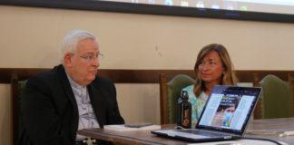 """Bassetti e Tesei in visita alla redazione de La """"Libertà di scelta per le donne"""": Bassetti e Tesei in redazione Voce e Umbria radio"""