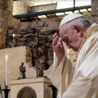 Papa Francesco Assisi 2020