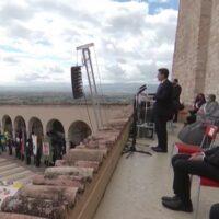 Il premier Conte ad Assisi