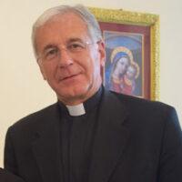 Un primo piano dell'arcivescovo Renato Boccardo