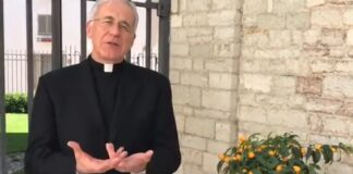 L'arcivescovo Renato Boccardo