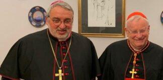 Mons. Marco Salvi e il card. Gualtiero Bassetti