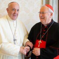 Papa Francesco con il card. Bassetti