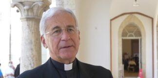 L'arcivescovo di Spoleto Norcia Renato Boccardo