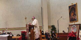 Mons. Marco Salvi presiede la celebrazione nella chiesa di San Sisto a Perugia