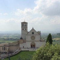 La basilica Superiore di San Francesco di Assisi