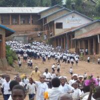 La scuola gestita dalle suore della Sacra Famiglia nella Repubblica Democratica del Congo