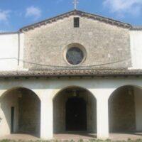 La facciata della chiesa di Santa Maria delle Grazie a Terni