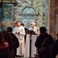 la veglia di preghiera quaresimale dei giovani 2021 chiesa santa maria assunta perugia