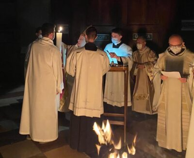 La Veglia di Pasqua nella Cattedrale di Perugia