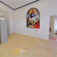 una delle sale espositive del Museo capitolare diocesano di Foligno