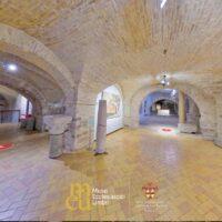 La cripta del Museo di San Rufino di Assisi