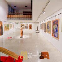 Una sala espositiva del Museo della Pro Civitate di Assisi