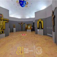 Una delle sale espsositive del Museo diocesano di Spoleto con alcune opere