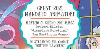 Gr.Est Mandato animatori 2021