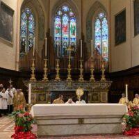CORPUS DOMINI 2019 A PERUGIA adorazione eucaristica in cattedrale pg