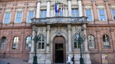 La facciata dell'Università per Stranieri di Perugia