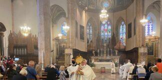 Celebrazione Corpus Domini Perugia 2021