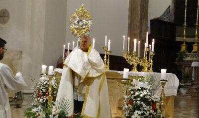 Corpus Domini 2020 cattedrale Terni
