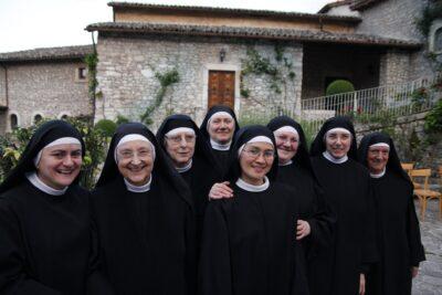 Le monache del Monastero di Santa Rita a Cascia